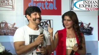vikram and samantha 10 enradhukulla teaser released