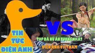 """Tin Tức Điện Ảnh - Top 5 """" Đả Nữ"""" Ấn Tượng Nhất Điện Ảnh Việt Nam"""