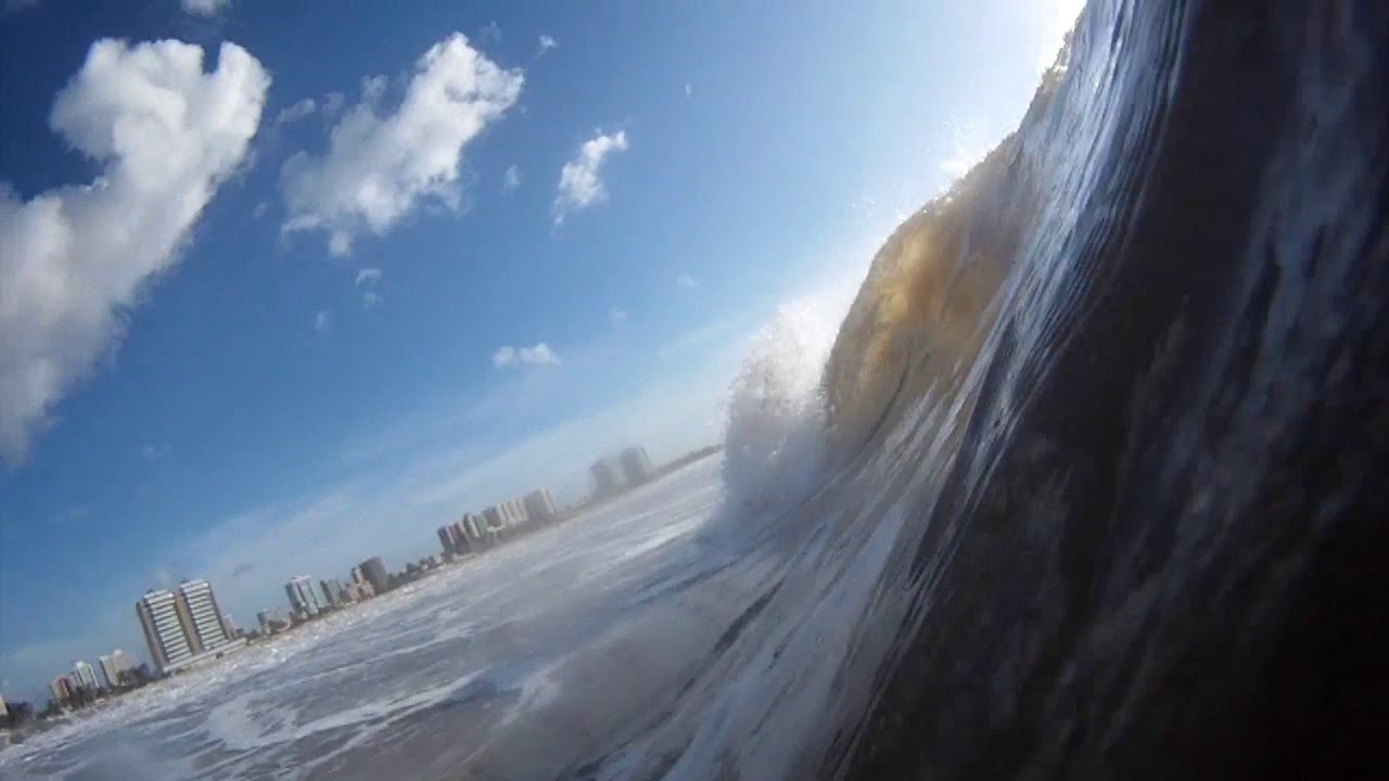 Surf Sergipe Praia da Cinelândia 12/05 - Ondas tubulares