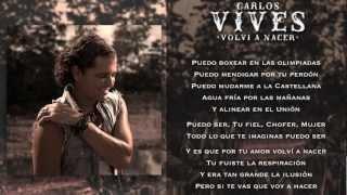 VOLVI A NACER - Carlos Vives