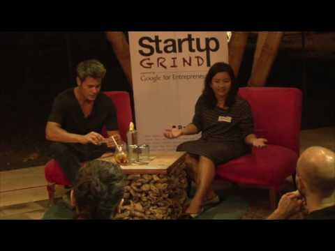 Startup grind Bali Hosted by Roger James Hamilton guest speaker Tenny Canniff