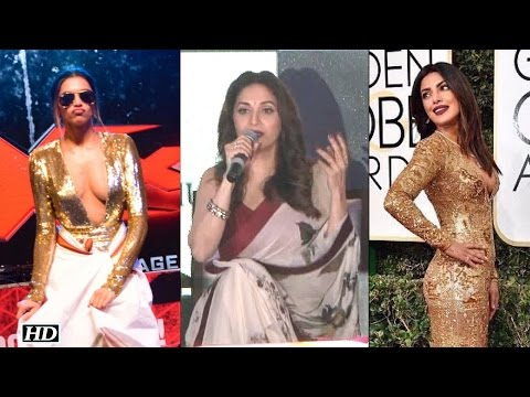 Madhuri s COMMENTS on Priyanka, Deepika's Dancing Skills - Duration: 1:17.
