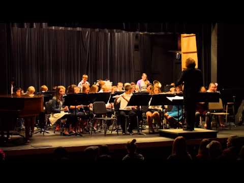 La Conner Middle School Band 2014