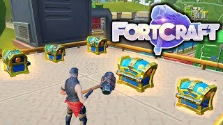 So Many Chest - Best Landing Spot FortCraft - Fortnite Mobile Clone