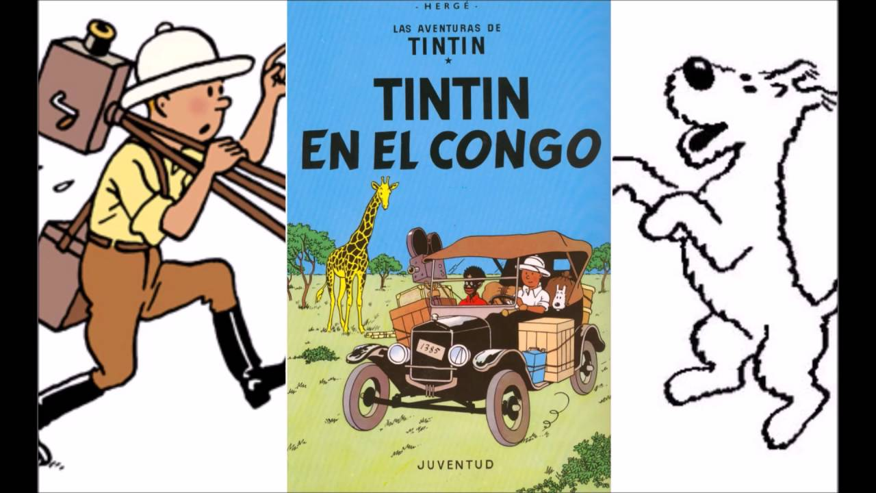 Image result for TINtin au congo pic