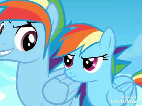 rainbow dash and rainbow blitz
