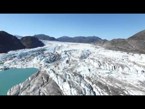 Glacier Bernardo and Icebergs