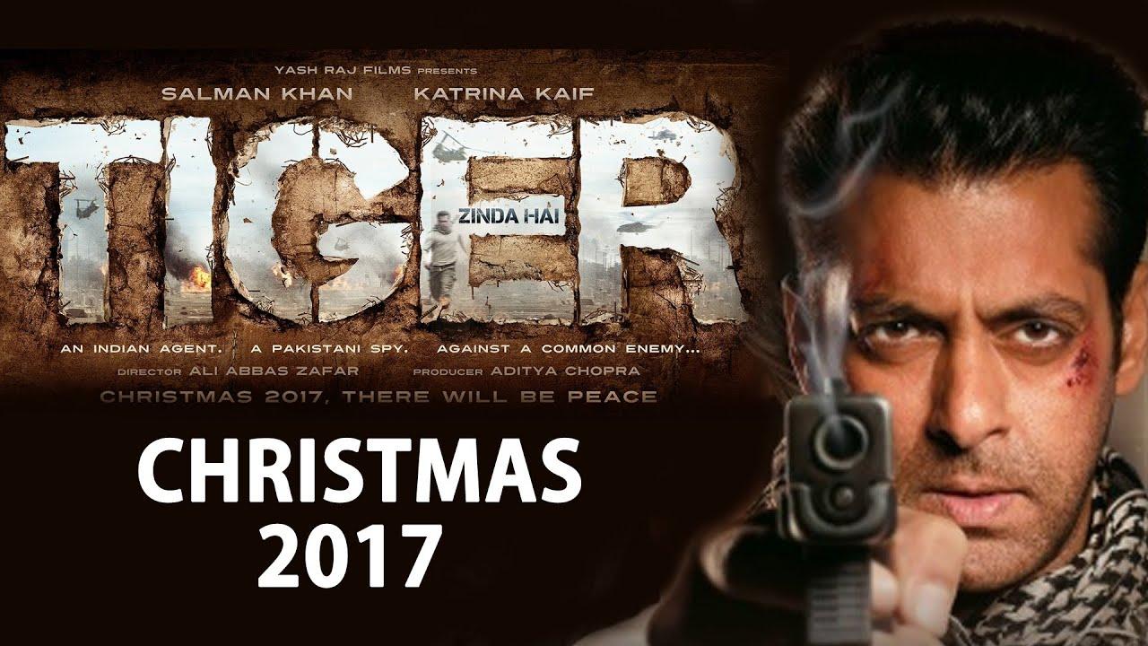 salman khan s tiger zinda hai poster out release on christmas 2017 bollywood news youtube