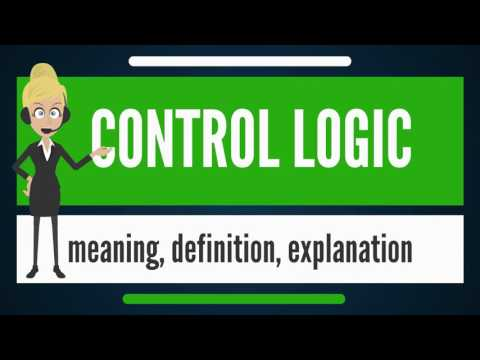What is CONTROL LOGIC? What does CONTROL LOGIC mean? CONTROL LOGIC meaning & explanation