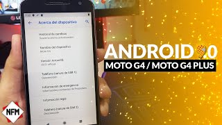Android 9.0 Para Moto G4 / G4 Plus 2019 - Nuevas funciones Video