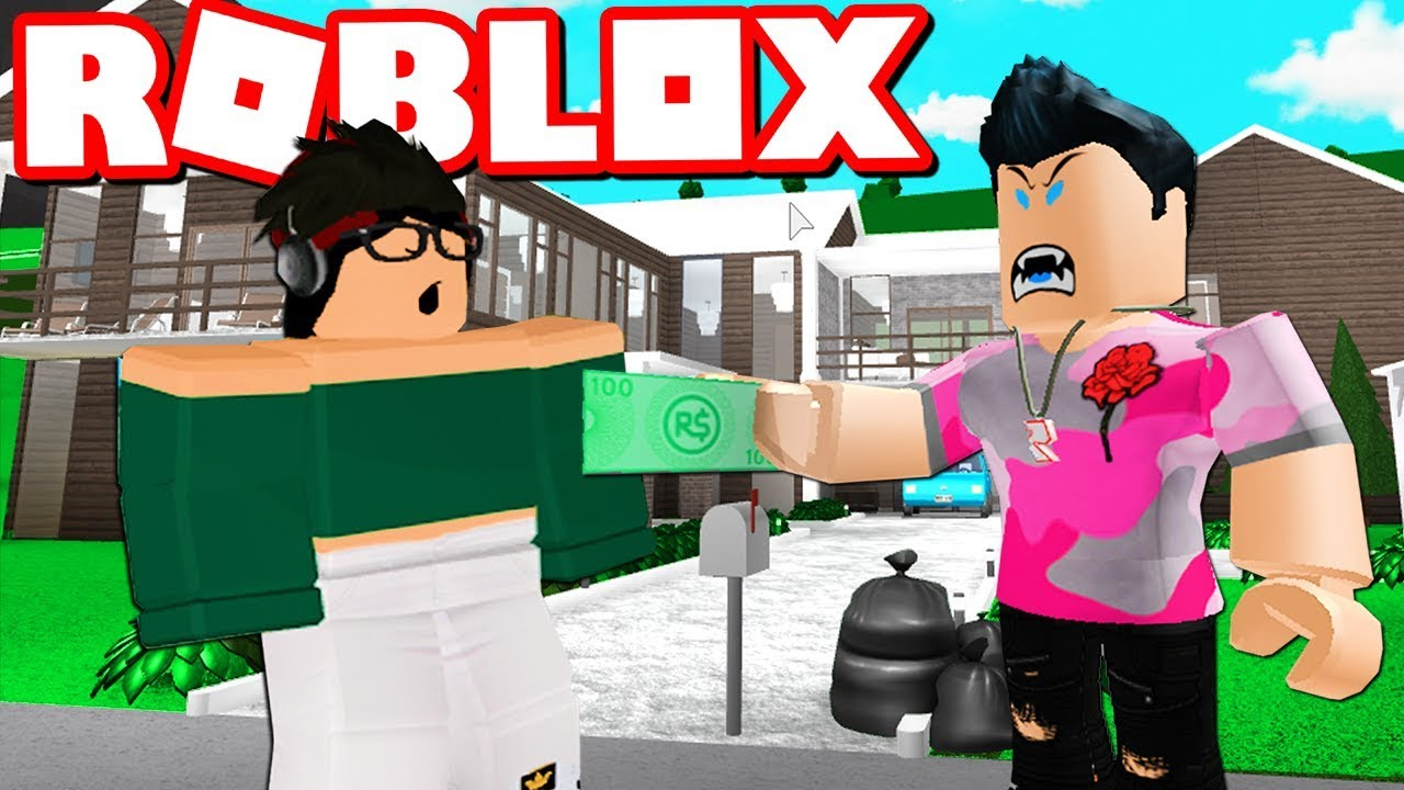 I Paid A Stranger 20 To Build My Bloxburg Mansion Roblox