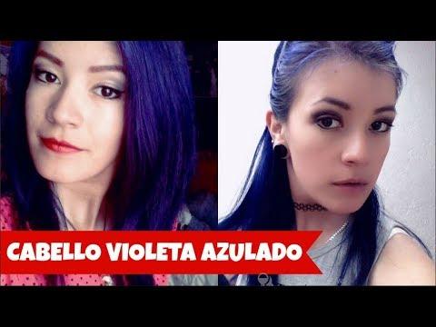 ♥ CABELLO AZUL VIOLETA ♥