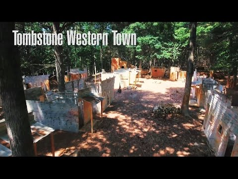 Tombstone Western Town in 4k - OSG Paintball