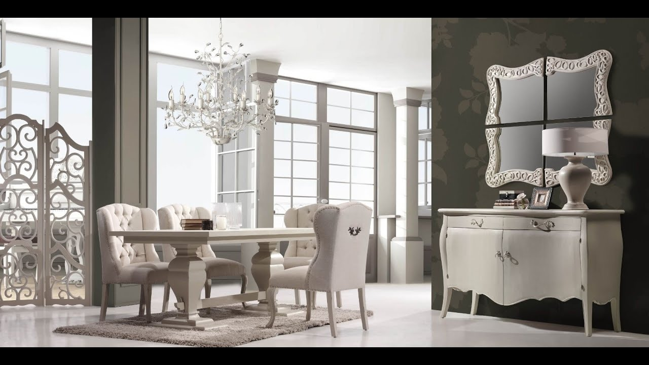 Muebles cl sicos en mbar muebles youtube for Muebles de salon clasicos en blanco