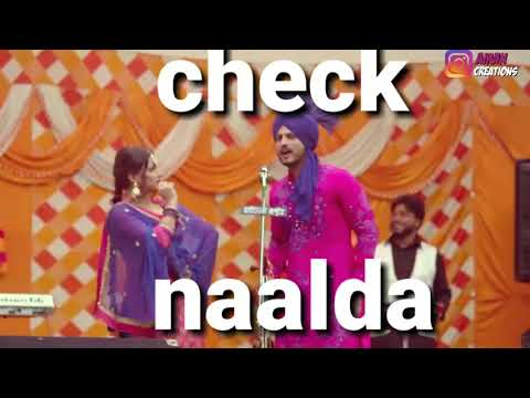 udhaar-chalda-||-gurnam-bhullar-nimrat-khaira-||-new-punjabi-song-2018-whatsapp-status-video