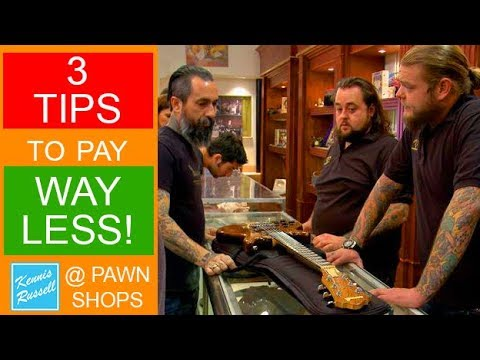 How To NOT Get Ripped Off At Pawn Shops With These 3 Tips