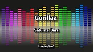 Gorillaz - Saturnz Barz - Karaoke