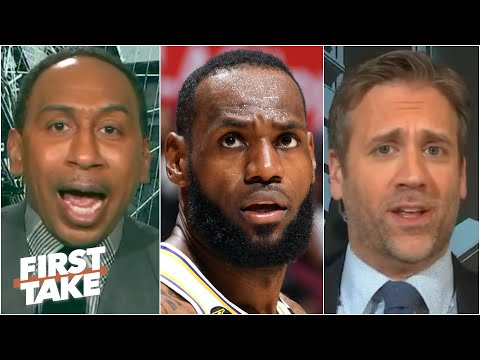Stephen A. and Max face off in a fiery LeBron debate | First Take