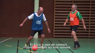 Gérard, walking footballeur