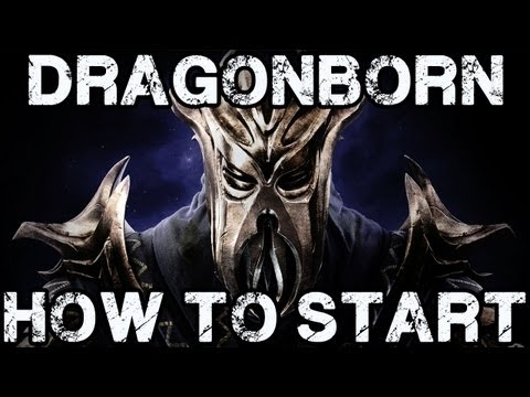 Skyrim - Getting Started With the Dragonborn DLC