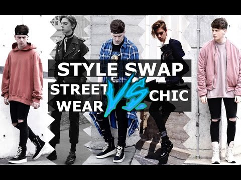 Streetwear VS Chic | Style Swap | Gallucks