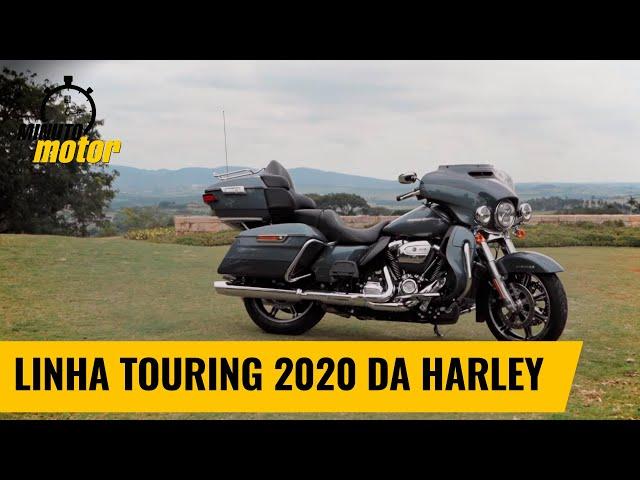 Conheça a linha Touring 2020 da Harley | Minuto Motor