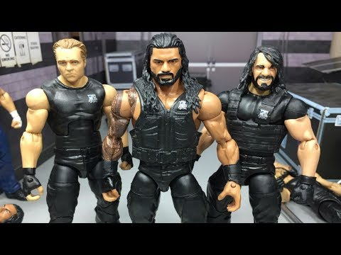 HOW TO MAKE UPDATED SHIELD WWE ACTION FIGURES!