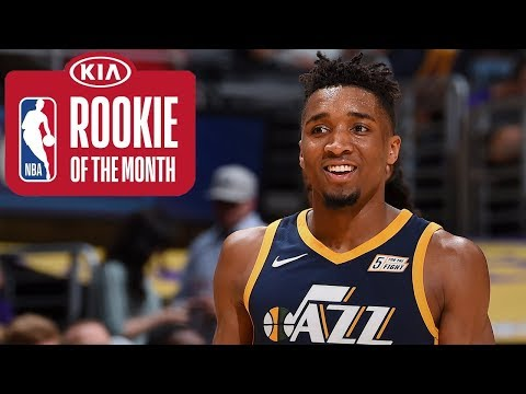 Donovan Mitchell | Rookie Of The Month | March 2018