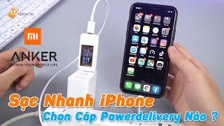 Cáp Power Delivery Anker Và ZMI Nên Chọn Cáp Nào Để Sạc Nhanh Cho iPhone.?