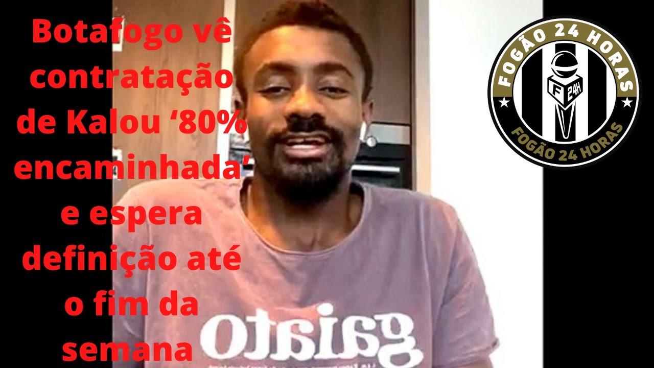 Botafogo vê contratação de Kalou '80% encaminhada' e espera definição até o fim da semana