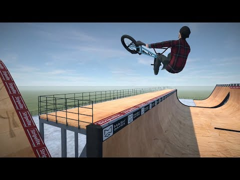 New BMX Game! We play BMX Streets: PIPE
