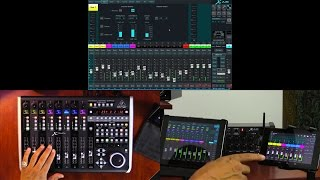 Using X-TOUCH to Control X AIR Digital Mixers