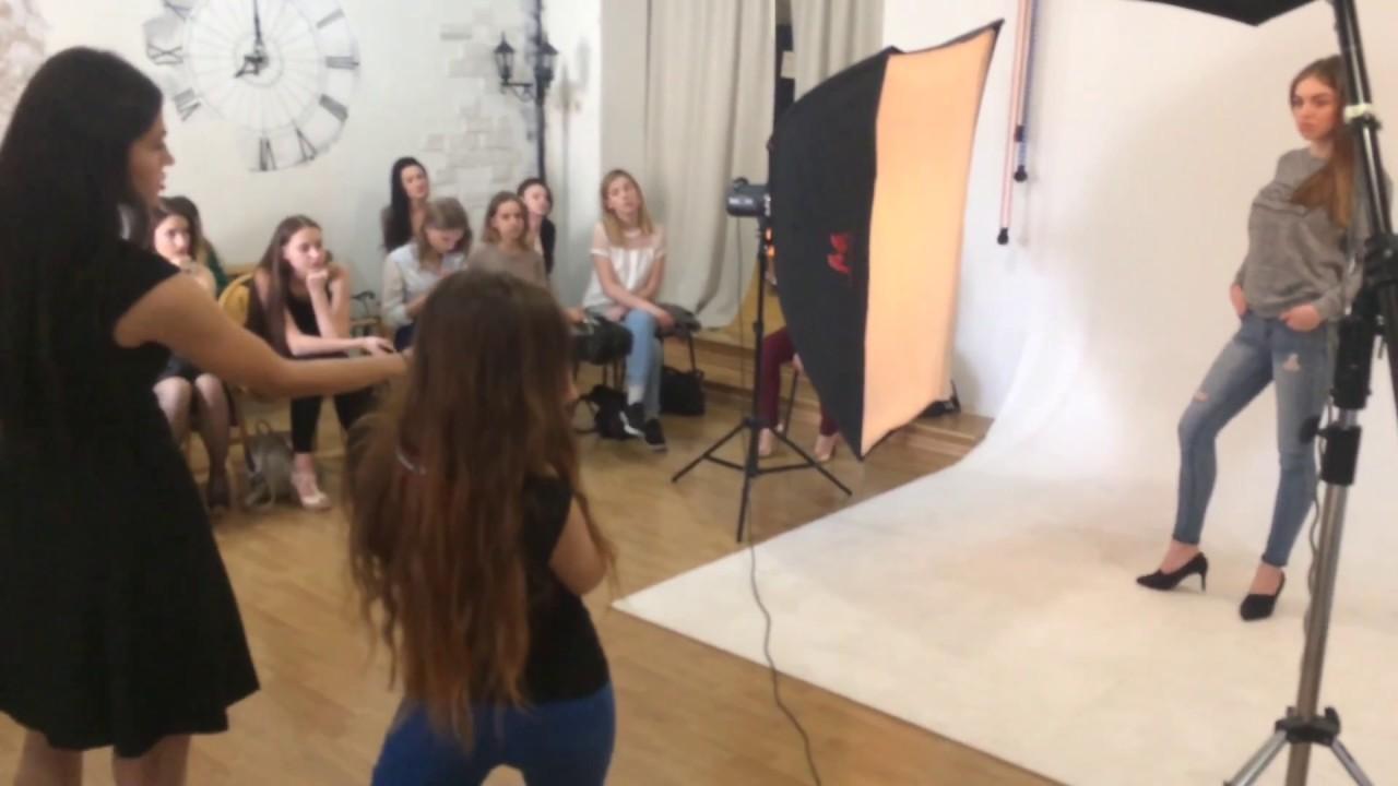"""Мастер-класс """"Фотопозирование для моделей"""" от Беловой ..."""