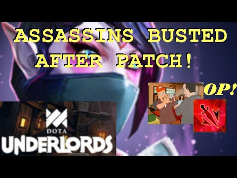 New Patch Made ASSASSINS BUSTED | Dota Underlords