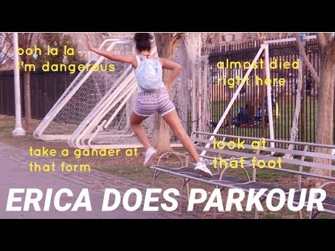 ERICA DOES PARKOUR | Erica Star