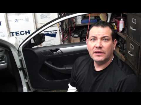 How to remove front and rear door panels on a 2014 VW Jetta