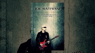 Joe Satriani Live At The Grand Rex Theater Paris