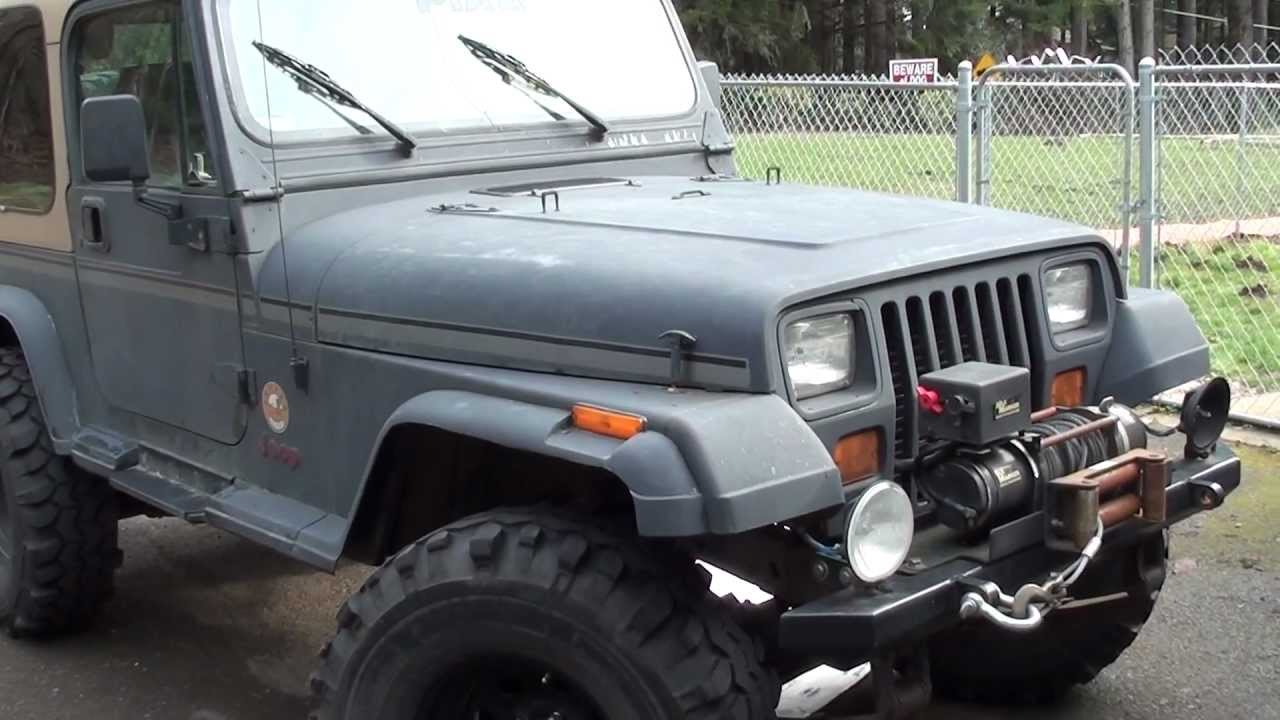 my 1995 jeep wrangler yj youtube. Black Bedroom Furniture Sets. Home Design Ideas