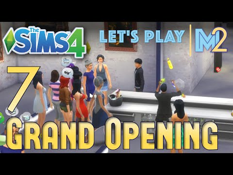Let's Play The Sims 4 - Art Gallery Grand Opening! (Eden Part 7)