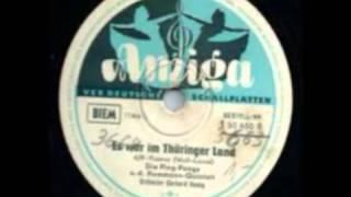 Die Ping pongs & Hemmann Quintett Es War Im Thüringer Land 1958