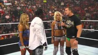 September 13, 2010//Maryse\Ted DiBiase vs Eve Torres\R Truth//RAW Rouelette