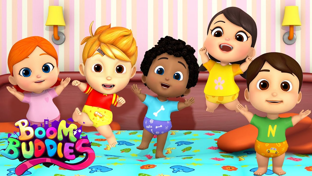 Five Little Babies | Nursery Rhymes & Babies Song | Kids Songs For Children