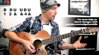 Black Gives Way To Blue - Alice In Chains - Easy Acoustic Guitar Lessons - Beginners Song Tutorial