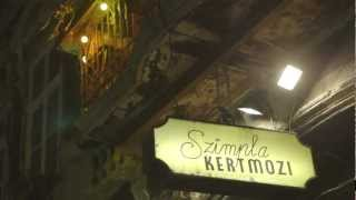 Szimpla - Canon C500 and Cinema lenses testing footage - Szimpla Kert Budapest