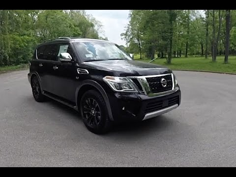 2017 Nissan Armada Platinum 4X4|Walk-Around Video|In-Depth Review
