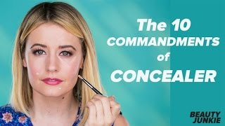 How to Apply Concealer the Right Way | Beauty Junkie