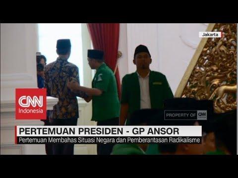 Presiden Jokowi Terima Kunjungan GP Ansor