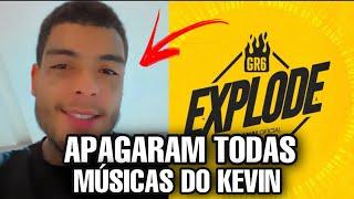 GR6 APAGOU TODAS MUSICAS DO MC KEVIN e DEU RUIM...