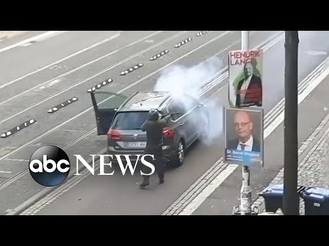 Suspect arrested after deadly shooting at German synagogue   ABC News