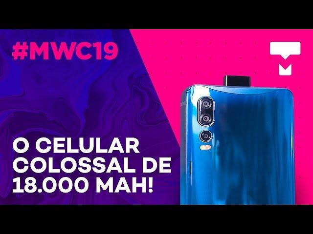 O celular imenso de 18.000 mAh da Energizer - MWC 2019 - TecMundo